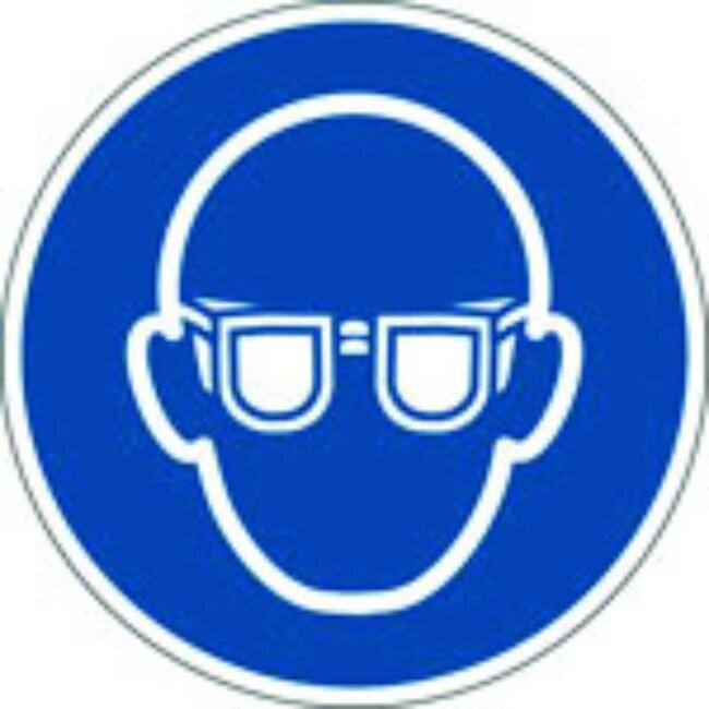 Brady™Polypropylen: ISO-Sicherheitsschild– Augenschutz tragen 315mm Durchm. Brady™Polypropylen: ISO-Sicherheitsschild– Augenschutz tragen