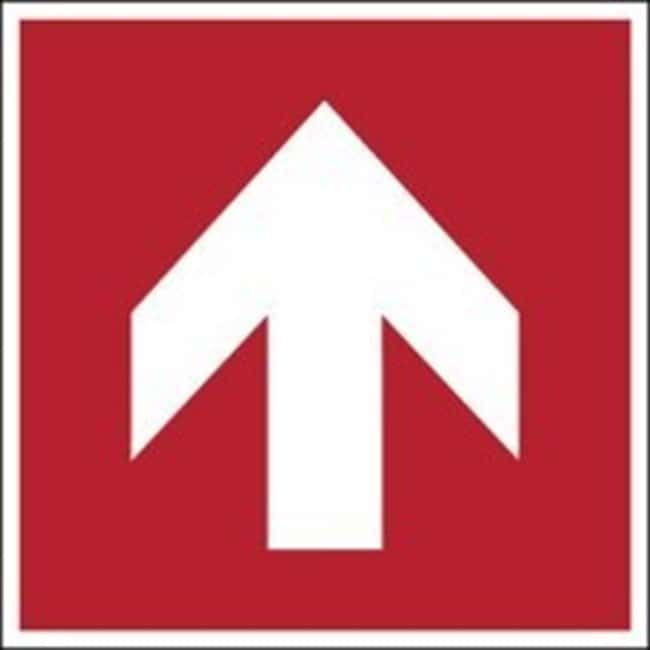 Brady™ Laminated Polyester: ISO Safety Sign - Direction arrow 90°, To the right, Red W x H: 315 x 315 mm Brady™ Laminated Polyester: ISO Safety Sign - Direction arrow 90°, To the right, Red