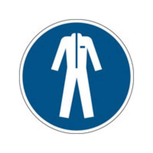 Brady™En PP: Panneau de sécurité ISO - Port d'un vêtement de protection 400mm de diamètre Brady™En PP: Panneau de sécurité ISO - Port d'un vêtement de protection