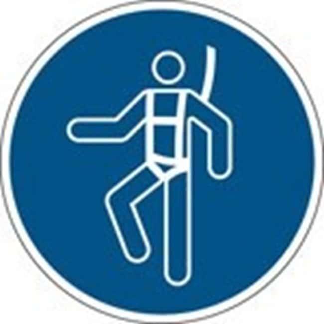 Brady™En PP: Panneau de sécurité ISO - Port d'un harnais de sécurité 100mm de diamètre Brady™En PP: Panneau de sécurité ISO - Port d'un harnais de sécurité