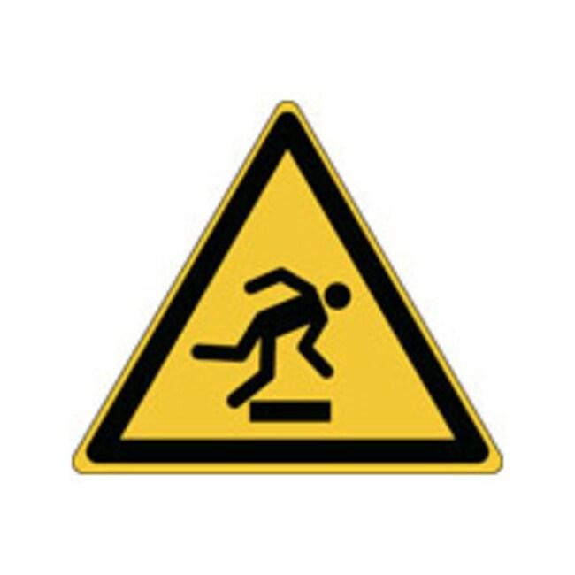 Brady™Aluminum: ISO Safety Sign - Warning: Floor level obstacle W x H: 315 x 273 mm Brady™Aluminum: ISO Safety Sign - Warning: Floor level obstacle