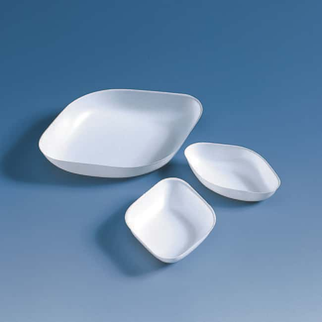 Brand™ Antistatic Weighing Dishes, Diamond-shaped Capacity: 25mL Brand™ Antistatic Weighing Dishes, Diamond-shaped