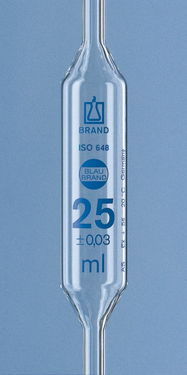 Brand™Blaubrand™ AR-GLAS™ 2-Mark Bulb Pipets Capacity: 0.5mL products