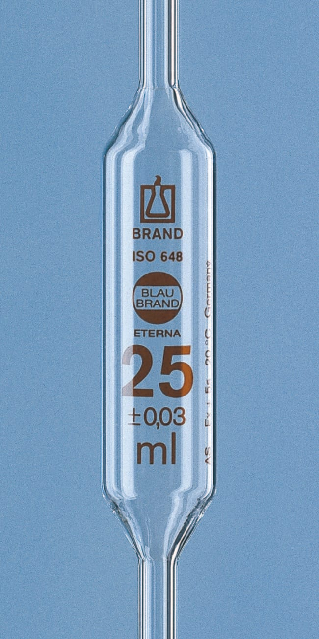 Brand™ Blaubrand™ Eterna™ Class AS Bulb Pipets Capacity: 50mL products
