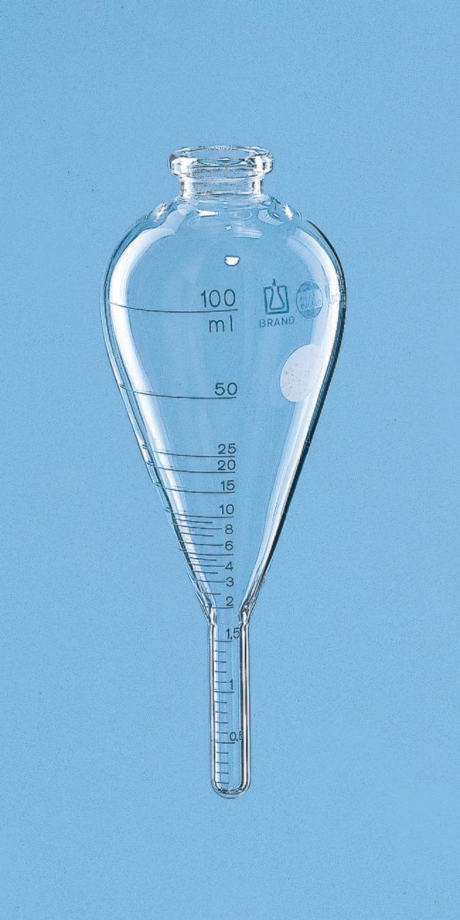 BRAND™Zentrifugenröhrchen aus Borosilikatglas Länge (metrisch): 160mm BRAND™Zentrifugenröhrchen aus Borosilikatglas