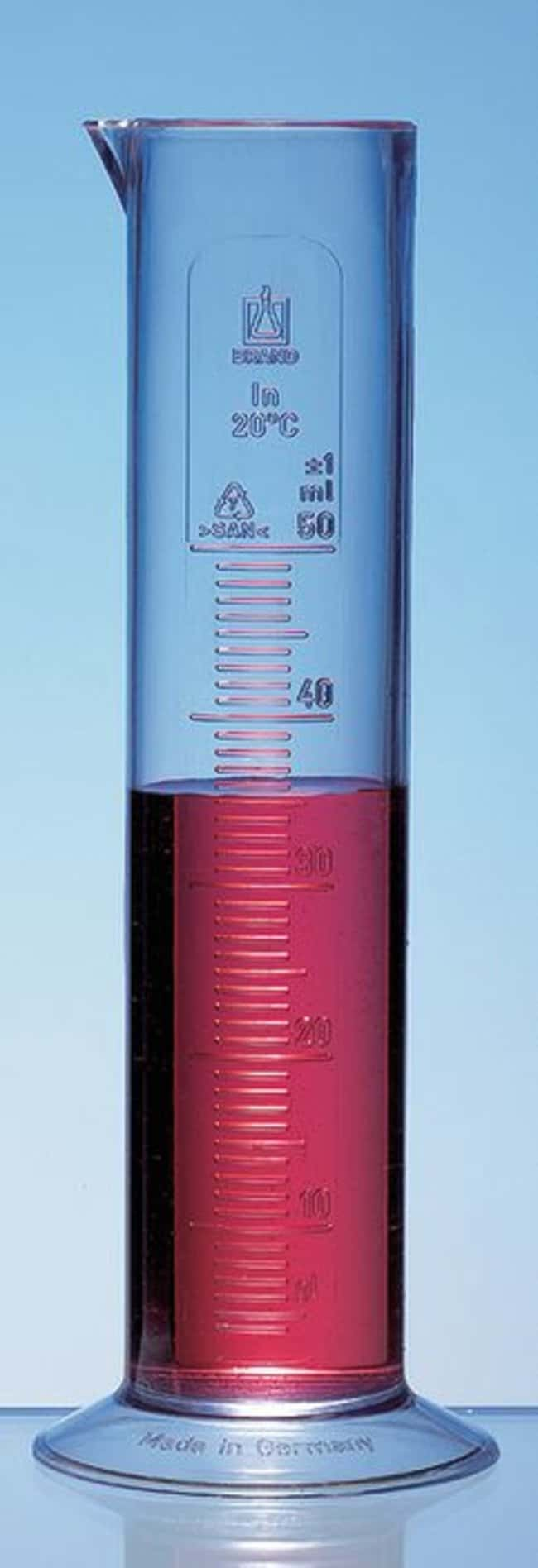 BRAND™Low Form Graduated Cylinder Capacity: 100 mL BRAND™Low Form Graduated Cylinder
