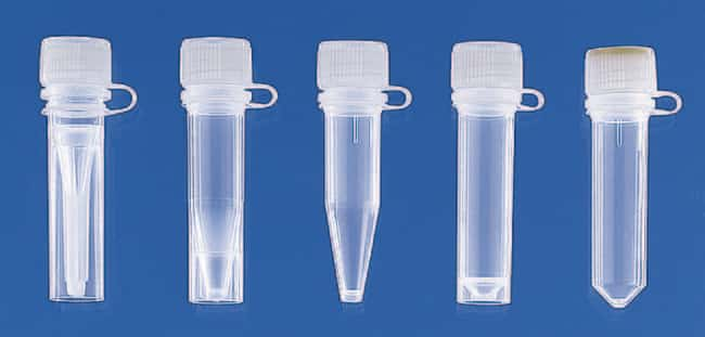 Brand™ Microcentrifuge Tubes with Attached Lip Seal Screw Caps