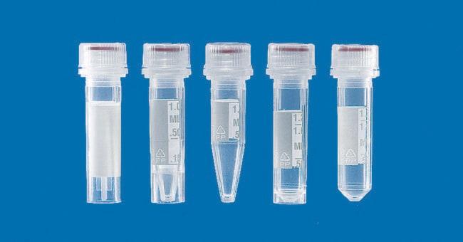 BRAND™Polypropylene Microcentrifuge Tubes with Screw Cap Capacity: 2mL BRAND™Polypropylene Microcentrifuge Tubes with Screw Cap