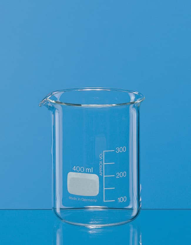 BRAND™ Low Form Borosilicate Glass Beakers Capacity (Metric):  3000 mL BRAND™ Low Form Borosilicate Glass Beakers