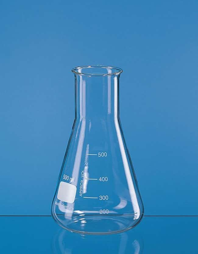BRAND™ Wide Neck Erlenmeyer Flask Capacity: 25 mL BRAND™ Wide Neck Erlenmeyer Flask
