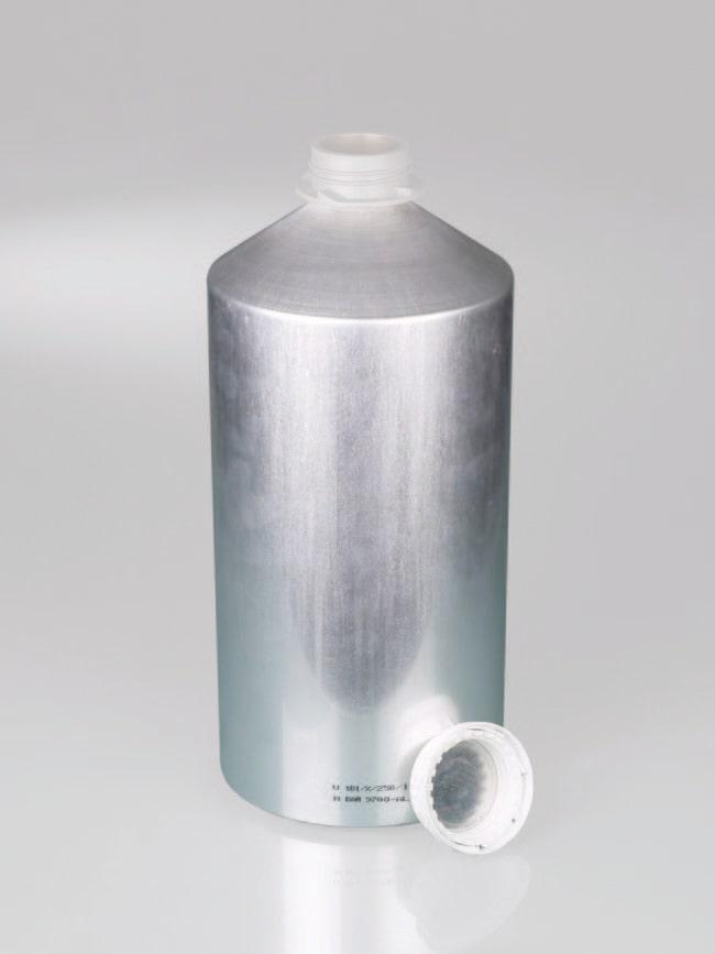 Buerkle™Aluminiumflaschen mit Originalitätsverschluss aus Polypropylen und Aluminiuminnendichtung Capacity: 5600 mL Buerkle™Aluminiumflaschen mit Originalitätsverschluss aus Polypropylen und Aluminiuminnendichtung