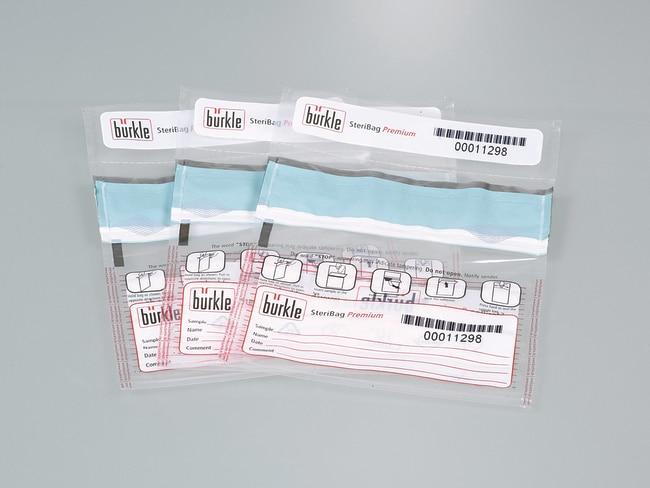 Buerkle™SteriBag Premium Tamper-Proof Sample Bag 300 ml Sample Bags