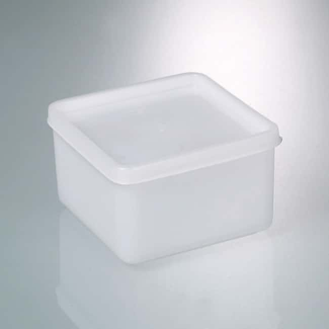 Buerkle™ Polyethylene Square All-Purpose Boxes Interior Dimensions: 255L x 103W x 94mmH; Capacity: 2000mL Buerkle™ Polyethylene Square All-Purpose Boxes