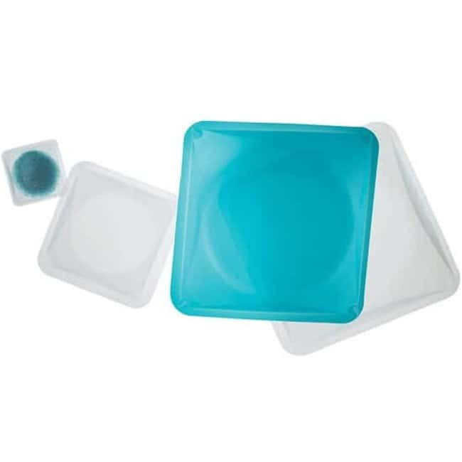 Cole Parmer™Square Polystyrene Weigh Boats, Blue 330 mL Cole Parmer™Square Polystyrene Weigh Boats, Blue