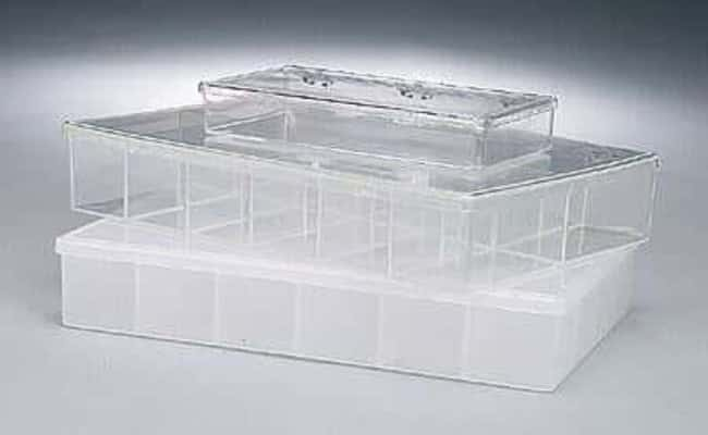 Cole-Parmer™Polystyrene Trans-Boxes container Height: 114.3mm Plastic Boxes