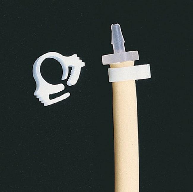 Masterflex™Reusable White Acetal Copolymer Hose Clamp Fits Tubing (Inner Diameter): 0.61 x 0.70 in. Masterflex™Reusable White Acetal Copolymer Hose Clamp
