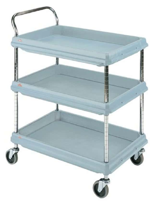Cole-Parmer™Stainless Steel Utility Cart Height: 1041mm Janitorial Utility Carts
