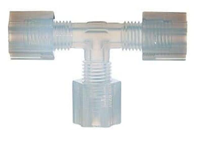 Cole-Parmer™Parker Hannifin™ PFA-T-Verbindungsstück mit Überwurfmutter 1/8Zoll Cole-Parmer™Parker Hannifin™ PFA-T-Verbindungsstück mit Überwurfmutter