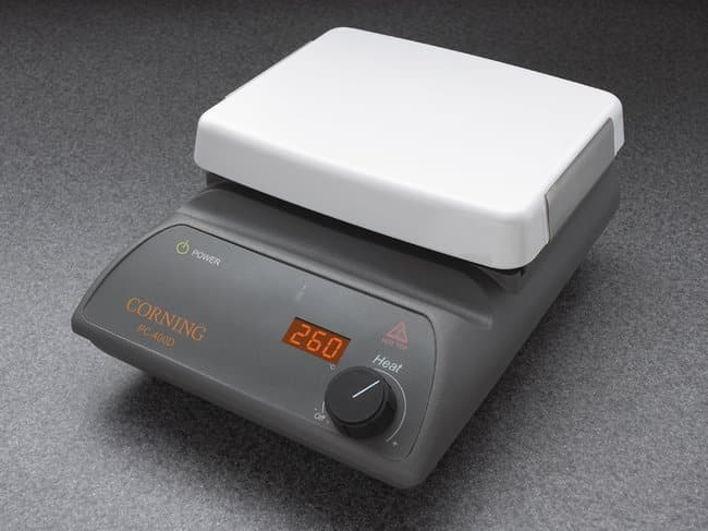 Corning™ Hotplate Hotplate; PC-400; 5 x 7 in.; 230V 50Hz 628w, 2.7A Classroom Hotplates and Stirrers