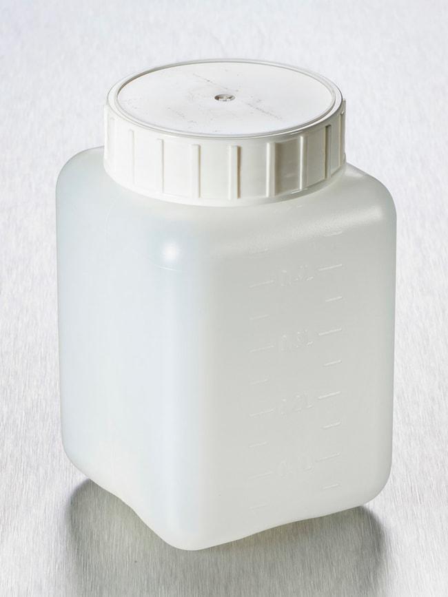 Gosselin™Gosselin™ quadratische HDPE-Flasche, graduiert, 500ml Quadratische HDPE-Flasche, 500ml, graduiert, 58mm weißer Verschluss, montiert, 175/Karton Gosselin™Gosselin™ quadratische HDPE-Flasche, graduiert, 500ml