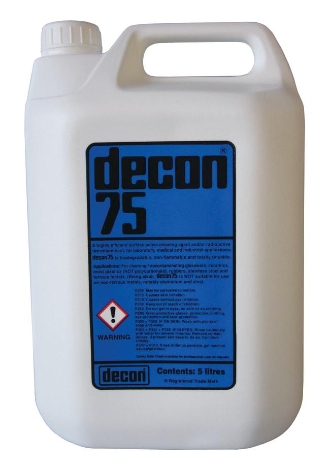 Decon™ Decon 75 Laboratory Detergent Quantity: 5000mL Labware