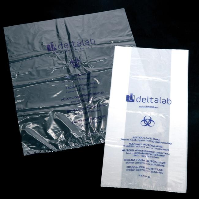 Deltalab™Bolsas resistentes esterilizables en autoclave: Esterilización en autoclave, esterilización y lavadores de laboratorio Ver productos