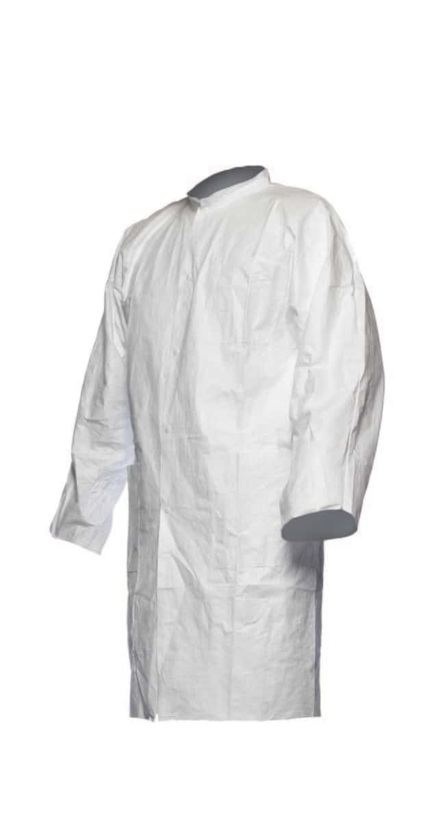 DuPont™ Tyvek 500 Laboratory Coat no pockets Size: 2X-Large DuPont™ Tyvek 500 Laboratory Coat no pockets