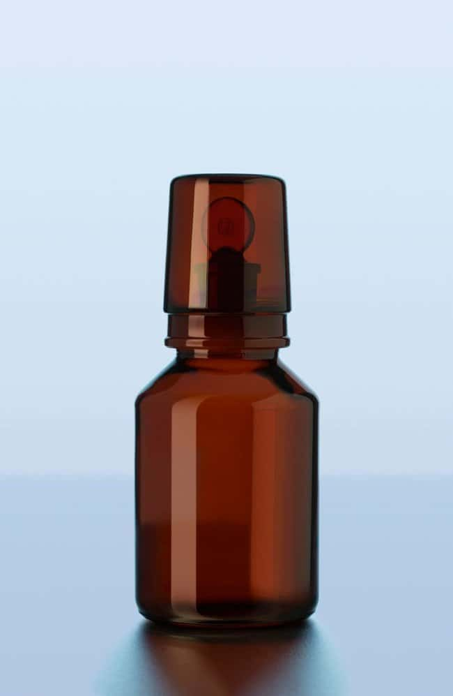Duran™Amber Glass Ground Caps for Acid Bottles: Stoppers and Closures Botellas, frascos y jarras