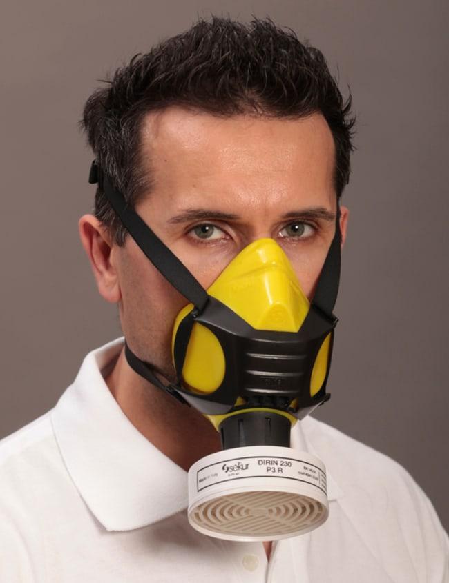 EKASTU SafetyHalf Mask Polimask ALFA Color: Yellow; Material: Silicone EKASTU SafetyHalf Mask Polimask ALFA