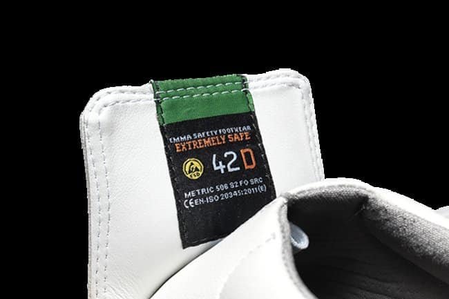 Emma Safety Footwear Metric Safety Shoes Size: 36 Emma Safety Footwear Metric Safety Shoes