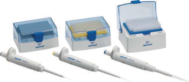 Eppendorf™ Reference™ 2 EU-IVD Single Channel Variable Volume Pipette 3-pack Option 1: 0.5 – 10μL, 10 – 100μL, 100 – 1,00 Ver productos