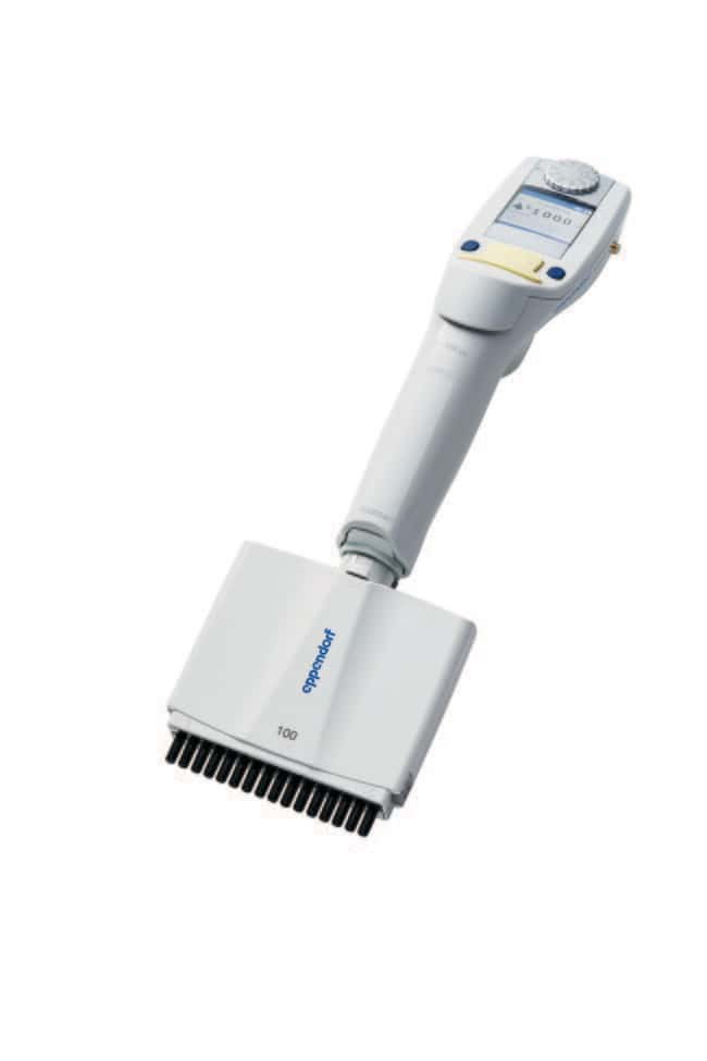 Eppendorf Xplorer Plus, Multi-Channel, Variable 100 µL to 5 µL, 16-channel:Pipets,
