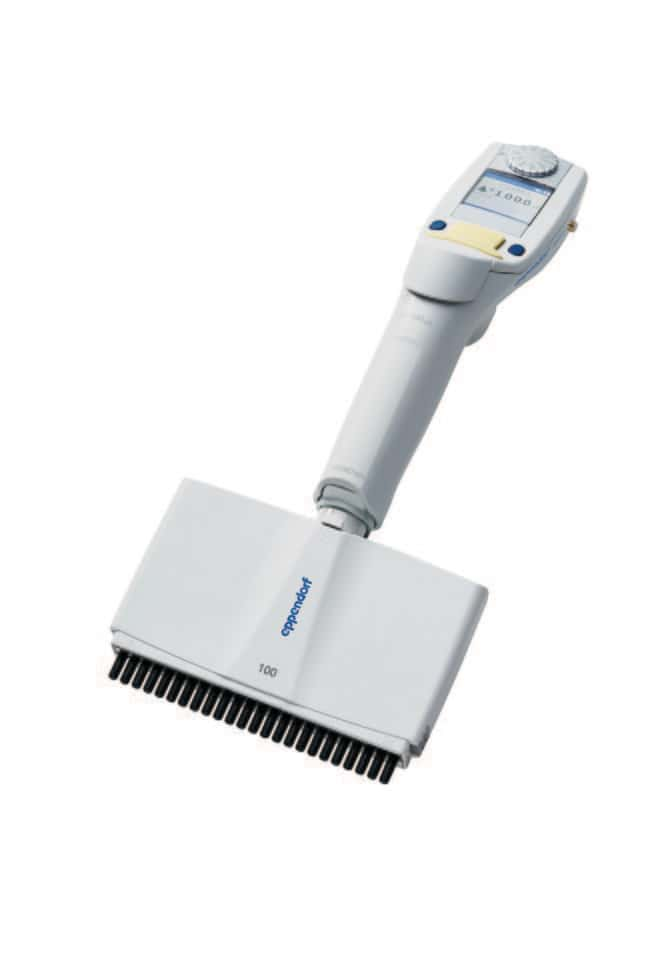Eppendorf Xplorer Plus, Multi-Channel, Variable 100 µL to 5 µL, 24-channel:Pipets,
