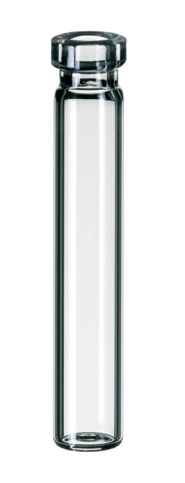 Fisherbrand™8mm Glasläschchen mit Bördelrand Klarer, flacher Boden, 0.7ml, 40mm Höhe Fisherbrand™8mm Glasläschchen mit Bördelrand