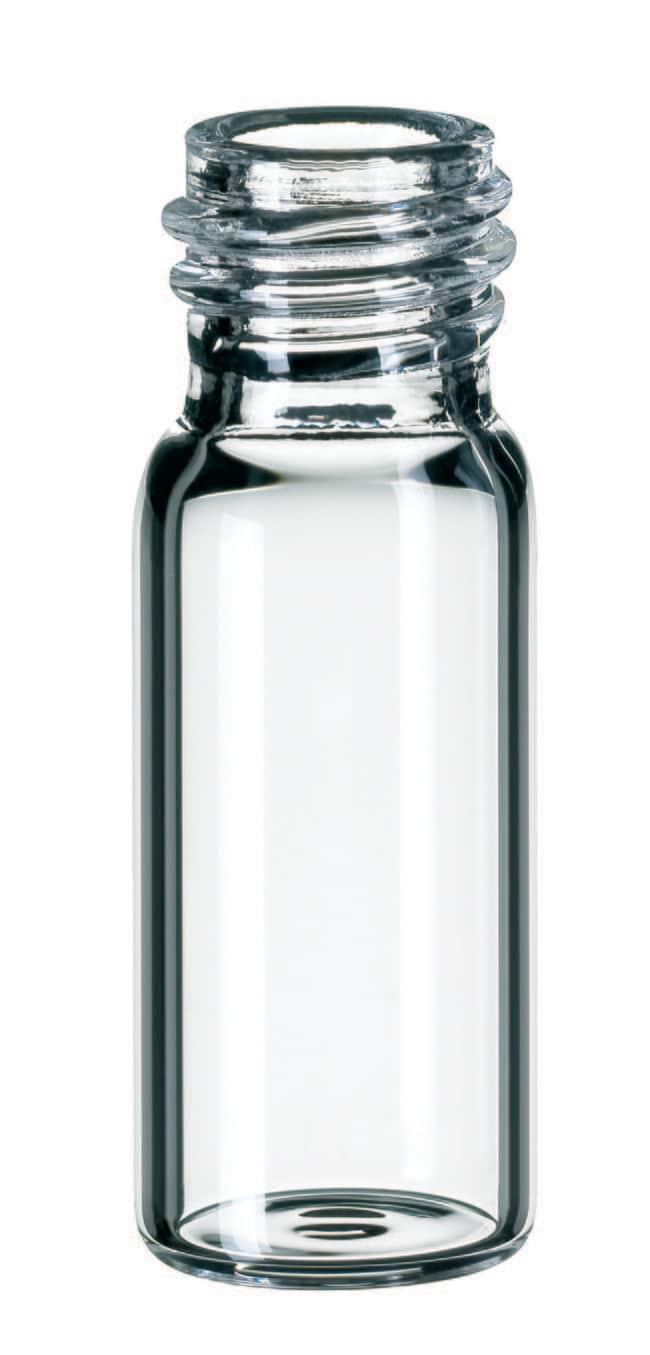 Fisherbrand™Glass Screw Neck Vial, 10-425 Thread Clear, flat bottom, 1.5mL Fisherbrand™Glass Screw Neck Vial, 10-425 Thread