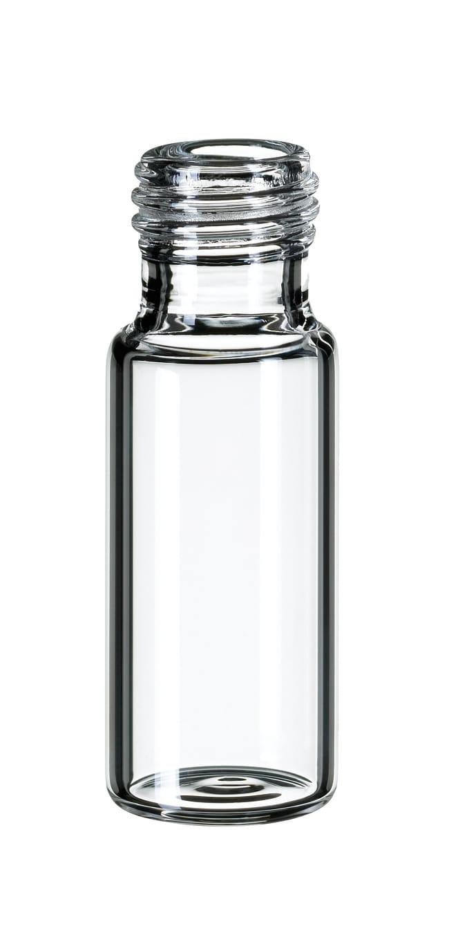Fisherbrand™9mm Short Thread Glass Vial, Wide Opening, Clear flat bottom,1.5ml Fisherbrand™9mm Short Thread Glass Vial, Wide Opening, Clear