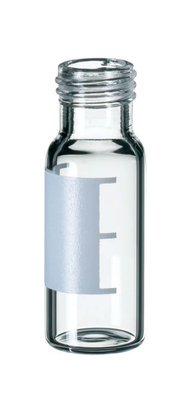 Fisherbrand™ 9mm Short Thread Glass Vial, Wide Opening, Clear Silanized,flat bottom,1.5ml Fisherbrand™ 9mm Short Thread Glass Vial, Wide Opening, Clear
