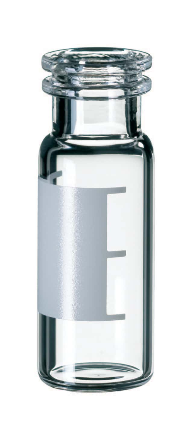 Fisherbrand™11mm Snap Ring Glass Vial, Wide Opening, Clear Silanized,flat bottom,1.5ml Fisherbrand™11mm Snap Ring Glass Vial, Wide Opening, Clear