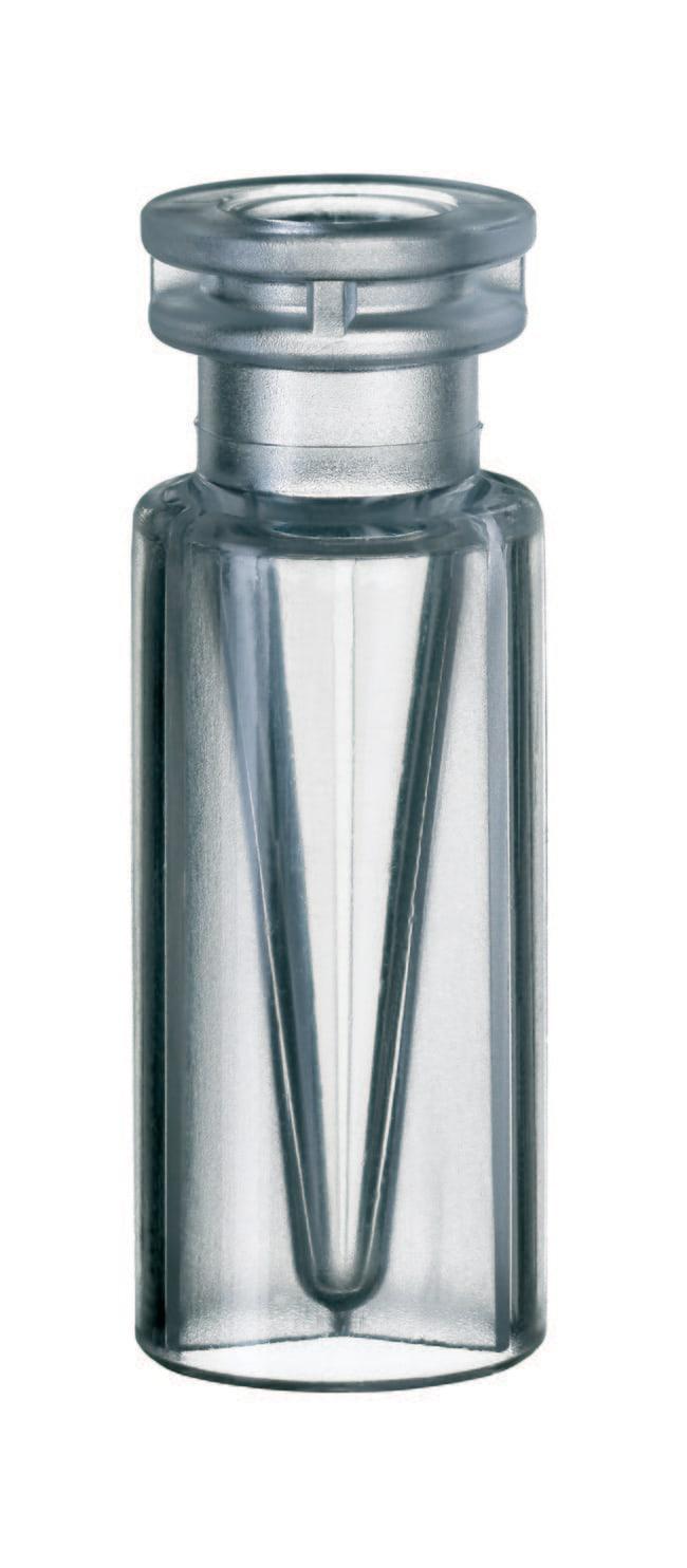 Fisherbrand™11mm Snap Ring Micro-Vial, Plastic Clear, TPX, inner cone, 0.3mL Fisherbrand™11mm Snap Ring Micro-Vial, Plastic