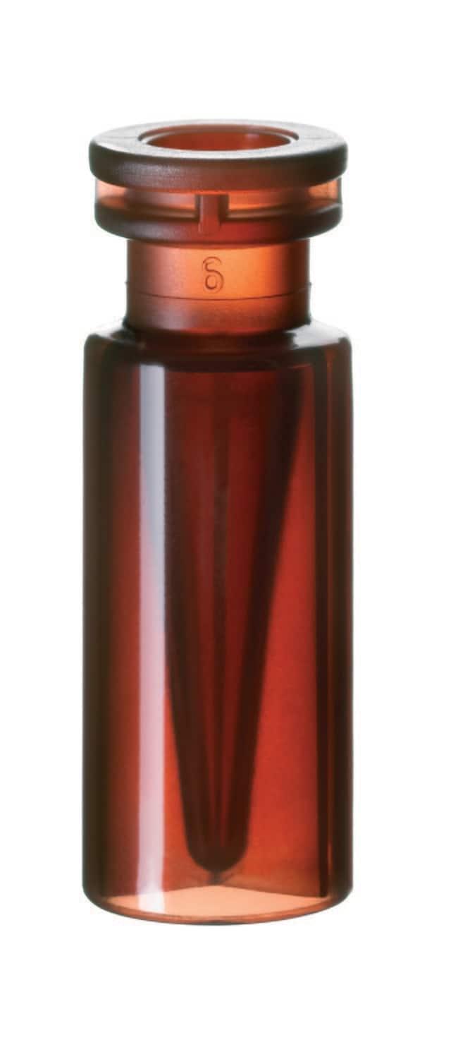 Fisherbrand™Mikrofläschchen mit 11mm-Schnappringverschluss, Kunststoff Bernsteinfarben, PP, Innenkonus, 0.3ml Fisherbrand™Mikrofläschchen mit 11mm-Schnappringverschluss, Kunststoff