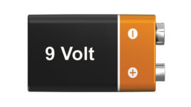 Fisherbrand™Batteries Battery Type: 9-Volt Fisherbrand™Batteries