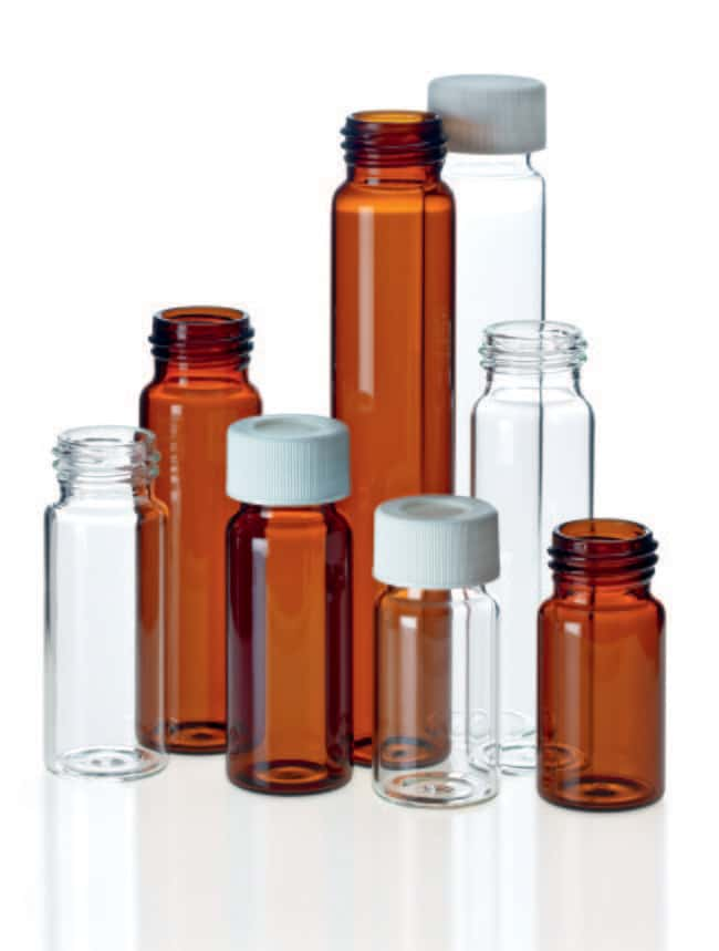 Fisherbrand™ EPA Screw Neck Vial, Glass: Home