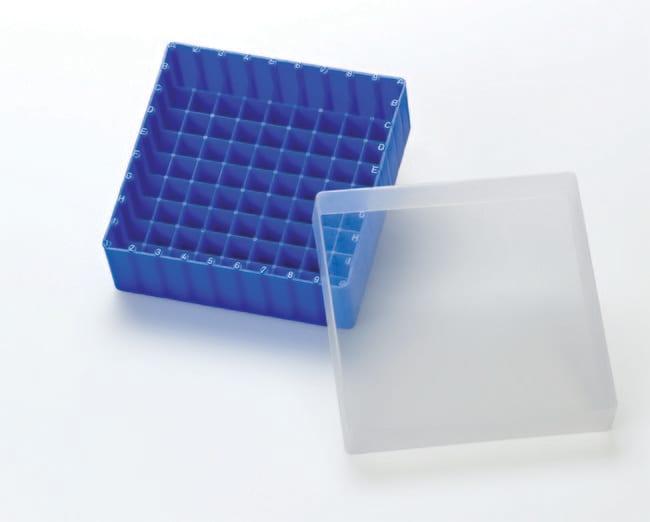 Fisherbrand™Scatole per conservazione in polipropilene con coperchio, autoclavabili, con codifica alfanumerica Blue Fisherbrand™Scatole per conservazione in polipropilene con coperchio, autoclavabili, con codifica alfanumerica