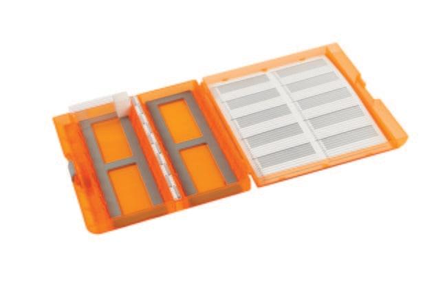 Heathrow Scientific™Premium Plus Objektträgerboxen Orange Heathrow Scientific™Premium Plus Objektträgerboxen