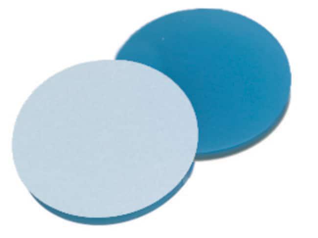 Fisherbrand™Septum für magnetische Precision Universal-Gewindekappe Silikon/PTFE transparent blau/weiß ,1.3mm Dicke ,45° Shore A Fisherbrand™Septum für magnetische Precision Universal-Gewindekappe