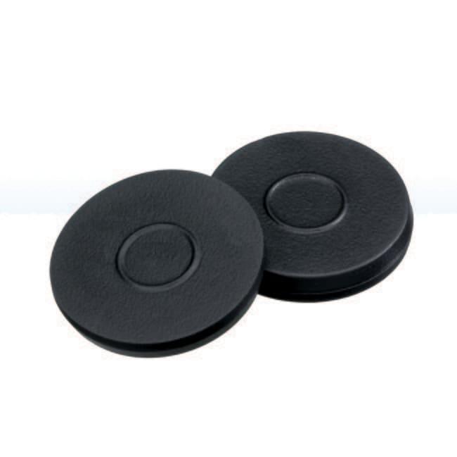 Fisherbrand™Septum for 20mm Crimp Cap Butyl dark grey,3 mm thickness,55° shore A Fisherbrand™Septum for 20mm Crimp Cap