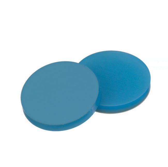Fisherbrand™Septum for 20mm Crimp Cap Silicone/PTFE transparent blue/transparent,3 mm thickness,45° shore A Fisherbrand™Septum for 20mm Crimp Cap