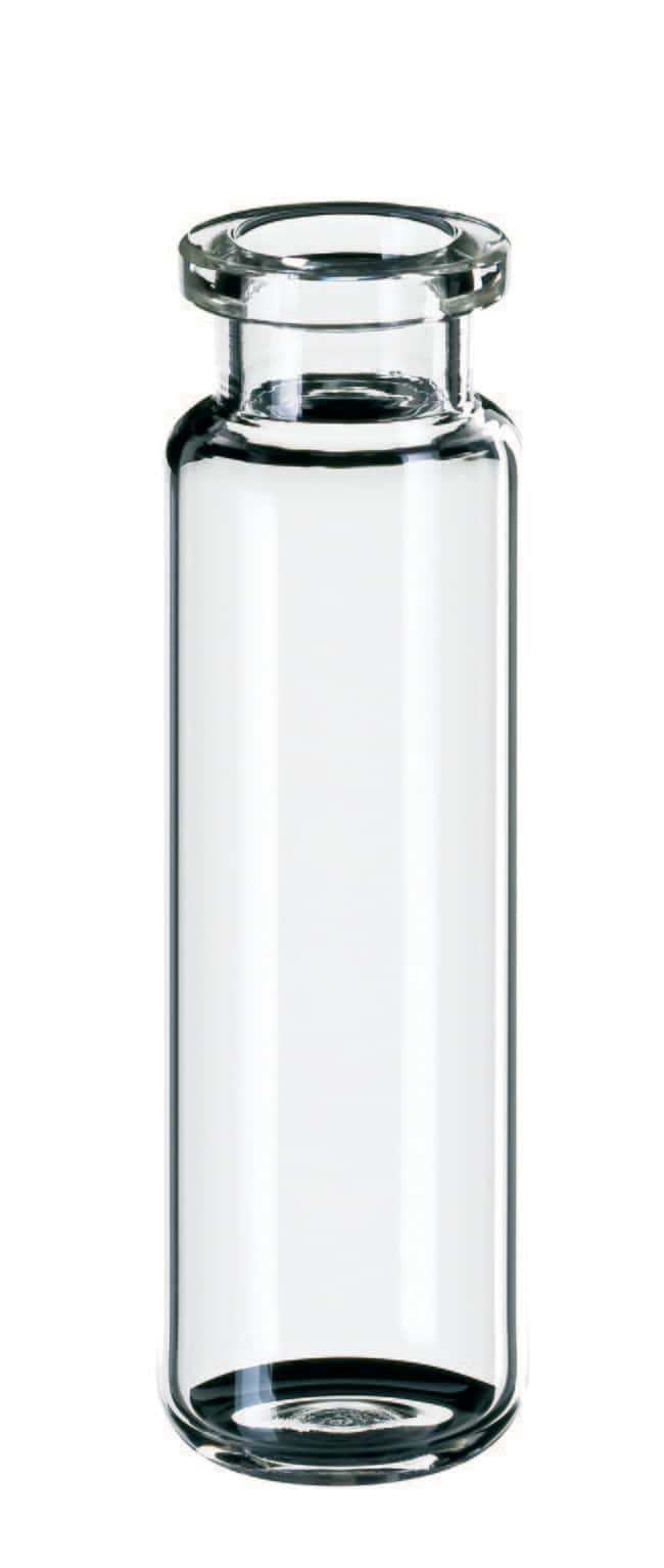 Fisherbrand™ Headspace-Vial, Crimp, Long Neck, Clear Glass rounded bottom,long neck,20ml,75.5mm height Fisherbrand™ Headspace-Vial, Crimp, Long Neck, Clear Glass