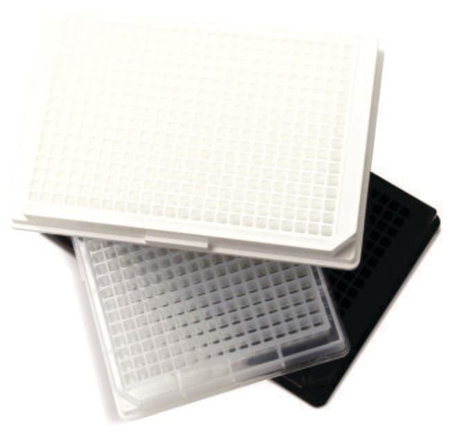 Fisherbrand™Microplaques en PP à 384puits ShallowWell Volume de puits 120μl; non stérile; blanc Fisherbrand™Microplaques en PP à 384puits ShallowWell