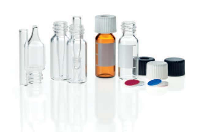 Fisherbrand™Glasfläschchen mit Gewindehals, 8-425Gewinde, kleine Öffnung: Autosampler-Fläschchen und Fläschchen-Sets Autosampler-Fläschchen, Kappen und Verschlüsse